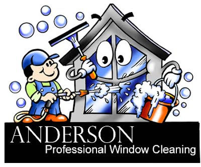 Logo: Happy house getting washed by the cleaning man